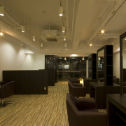 hair make studio L'Aube様 施工イメージ